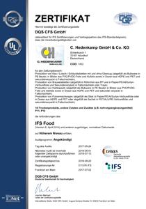Zertifikat-IFS-Food-de-2018